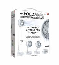 My Foldaway Rechargeable Fan- Floor and Table Fan