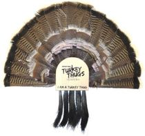 Quaker Boy Turkey Thugs Fan Mnt Call