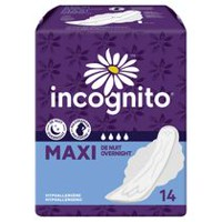 Incognito Maxi Overnight/MaxiMom Winged Pads