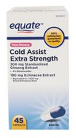Equate Non-Drowsy Cold Assist Extra Strength