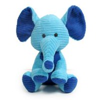 Figurine d'animaux en peluche de 10 po de kid connection - Éléphant