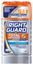 Right Guard Total Defense 5 Powerstripe - 60 g