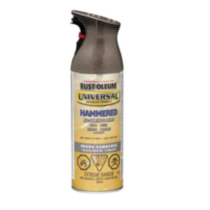 Rust-Oleum Universal All-Surface Hammered Finish - Brown 340g