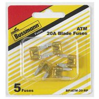 Cooper Bussmann BP/ATM-20 20 Amp Fast Acting Mini-Fuse