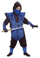 Ninja Lord Costume Boys Toddler Small (2T) Red