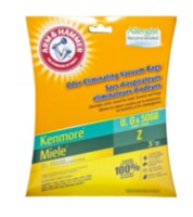 Arm & Hammer Micro Bag Kenmore U, O & 5068 and Miele Z