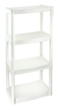 Plano® 4-Tier Free Standing Shelf (model 9177)