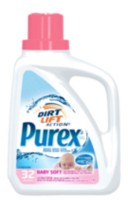 Détergent liquide de Purex Baby Soft Dirt Lift Action