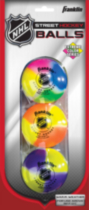 Franklin Sports NHL® Extreme Color Street Hockey Ball Set