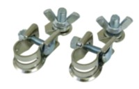 Schumacher BAF-WNT2 Crimp Top Post Terminal/Stud and Wing Nut