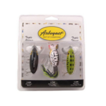 Arbogast's Triple Threat Lure Assortment