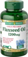 Nature's Bounty Organic Flaxseed Oil 1200 mg 100 Softgels