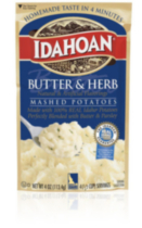 Idahoan Butter & Herb Mashed Potatoes