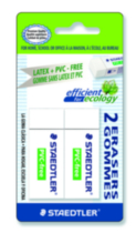 Staedtler Latex Pvc Eraser 2 Pk