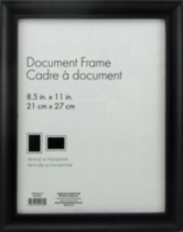 "hometrends Nikolai Black 8.5"" x 11"" Picture Frame"