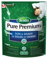 Scotts Pure Premium Sun & Shade Mix Grass Seed - 1 kg