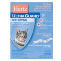 Hartz UltraGuard Reflective Flea & Tick Collar for Cats & Kittens
