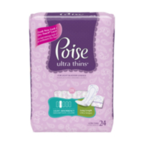 Serviettes Poise, Ultra Thin Longue
