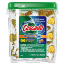 Cascade Citrus Breeze 2in1 ActionPacs Dishwasher Detergent Packs