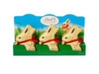 Multi-emballage de Lindt Lapin d'Or Lait 3x50g