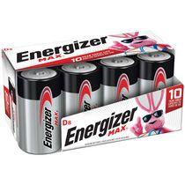 Paquet de huit piles D EnergizerMD MAXMD