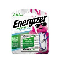 Energizer® AAA-4 Rechargeable Batteries