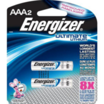 Energizer® Ultimate Lithium AAA-2
