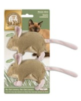 Paq. de 2 souris de The Cat Fanciers' Association