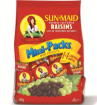 Mini raisins secs de Sunmaid