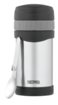 Thermos Vacuum Insulated Food Jar with Folding Spoon