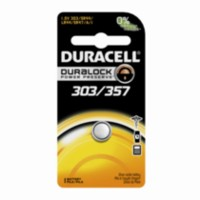 Duracell 303/357 1.5V Watch/Electronic Battery, 1 Count