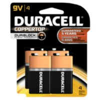 Piles Duracell Coppertop 9V