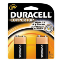 Pile Duracell Coppertop 9V-2