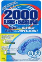 2000 Flushes Blue plus Bleach Toilet Tank Cleaner