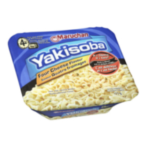 Maruchan Yakisoba Four Cheese Home Style Japanese Noodels