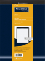 "Cambridge® Headstrip Office Pads, quad ruled, 4:1"" , 8-1/2 x 11-3/4, 160 Pages"