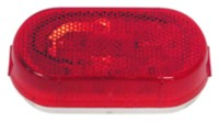Red Oval Clearance Light