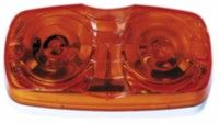 Amber Oval Clearance Light