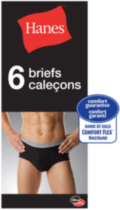 6-pack Briefs Hanes L