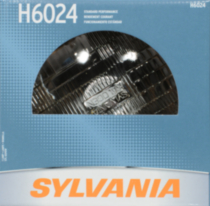 H6024 automotive sealed beam headlight 1 pack