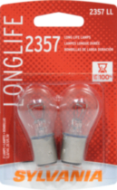 2357LL Long Life automotive miniature bulb 2 pack