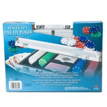 Cardinal Aluminum Case Poker Set
