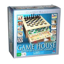GAME HOUSE WITH 10 CLASSIC GAMES