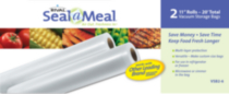 Seal a Meal, 2 Pack - 11' Rolls.