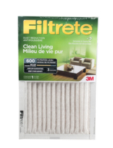 Clean Living Dust Reduction Filter 20x25x1