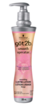 Schwarzkopf got2b Smooth Operator Smoothing Cashmere Lustre Lotion