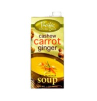 Pacific Foods Organic Cashew Carrot Ginger Soup