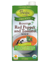 Pacific Foods Organic Low Sodium Red Pepper and Tomato Sou