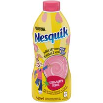 Nestlé Nesquik Less Sugar Strawberry Syrup
