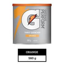 Gatorade Perform Thirst Quencher Orange Powder